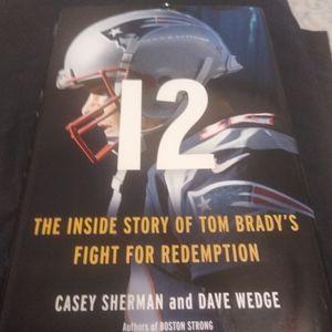 NWT Tom Brady Book